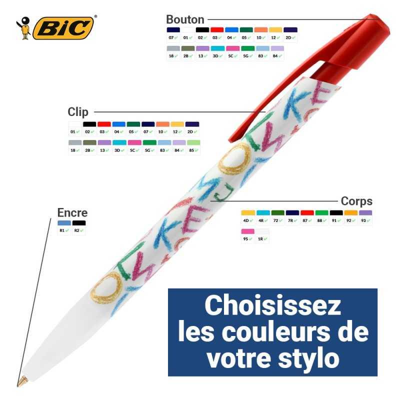 Stylo publicitaire Media Clic Ecolution Numérique