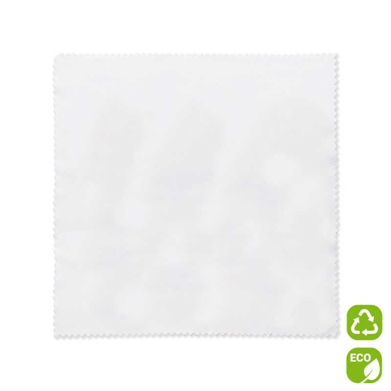 Lingette de nettoyage microfibre recyclée