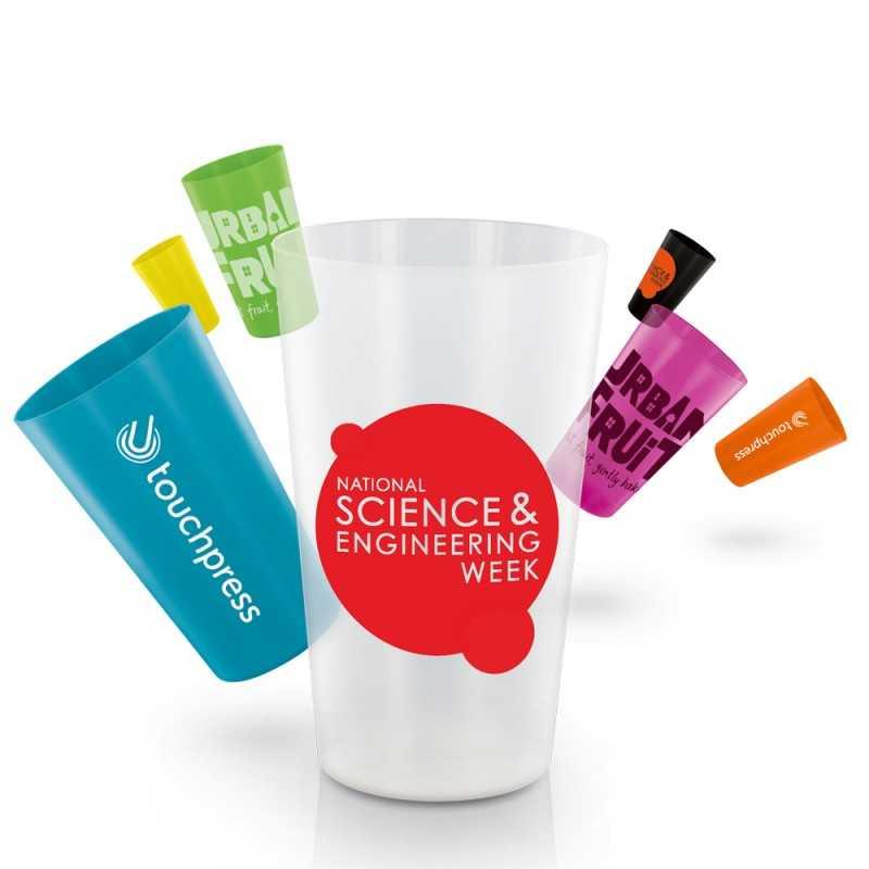Picup 30 cl gobelet en plastique réutilisable personnalisé