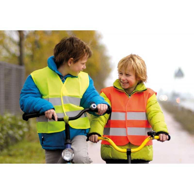 1aa12249be24b Gilet sécurité enfant publicitaire