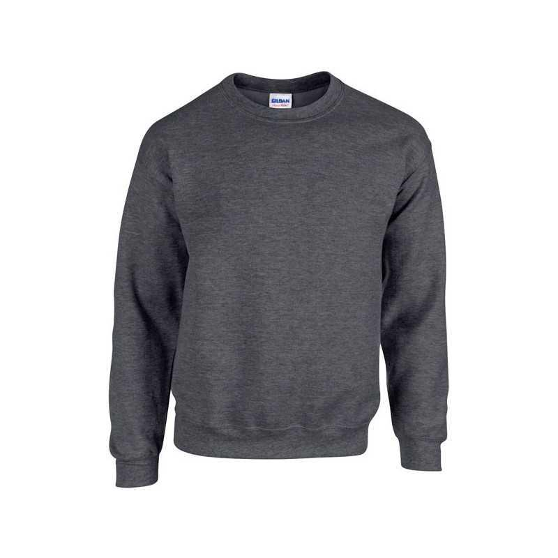sweat shirt gris col rond personnaliser. Black Bedroom Furniture Sets. Home Design Ideas