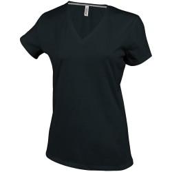 T-shirt publicitaire col V...