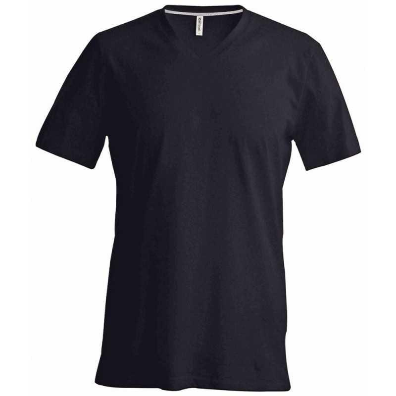 T-shirt publicitaire col V pour homme Vertigo