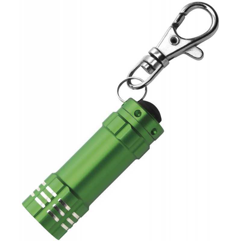 Porte-clés publicitaire lampe torche Dan