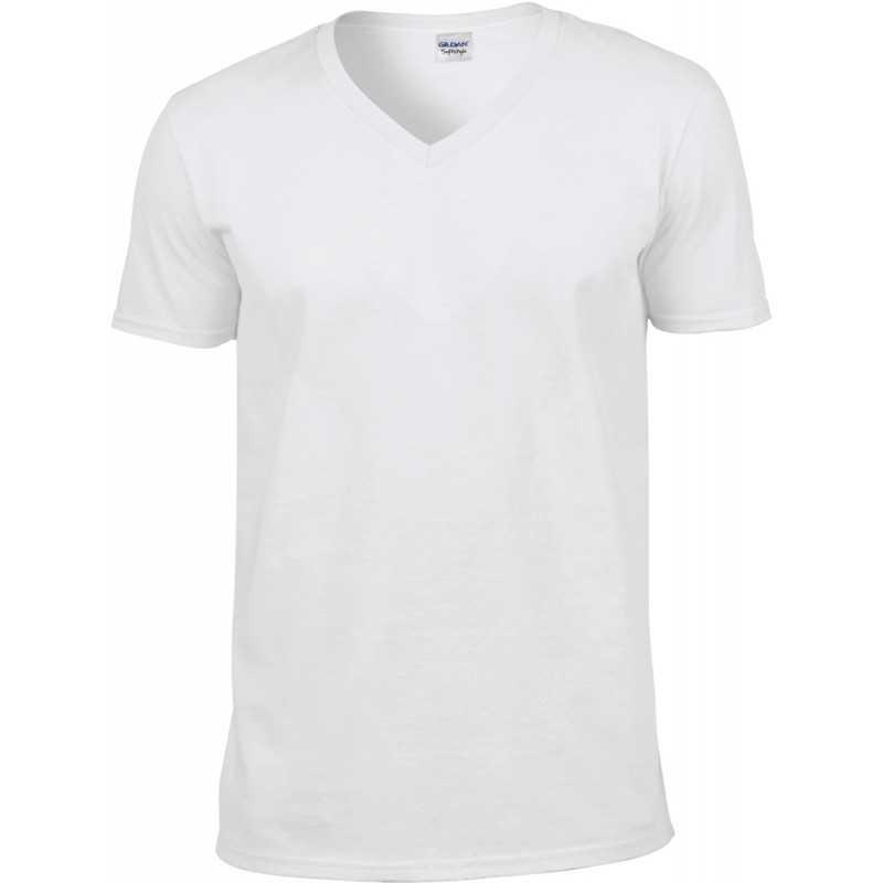 Tee shirt publicitaire homme V-neck