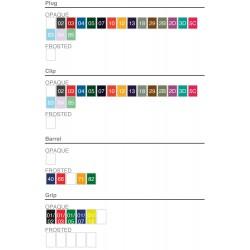 Stylo de marque personnalisé Media Clic Grip
