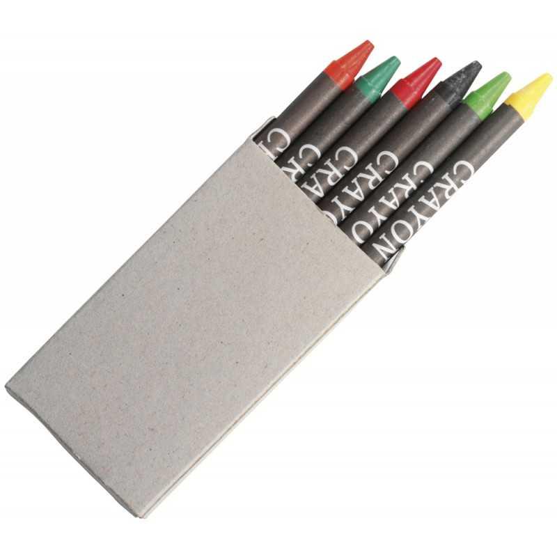 Set de 6 crayons gras