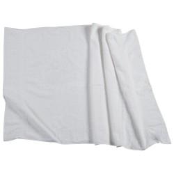 Serviettes de bain blanc