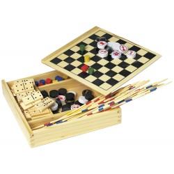 Set de 5 jeux en bois