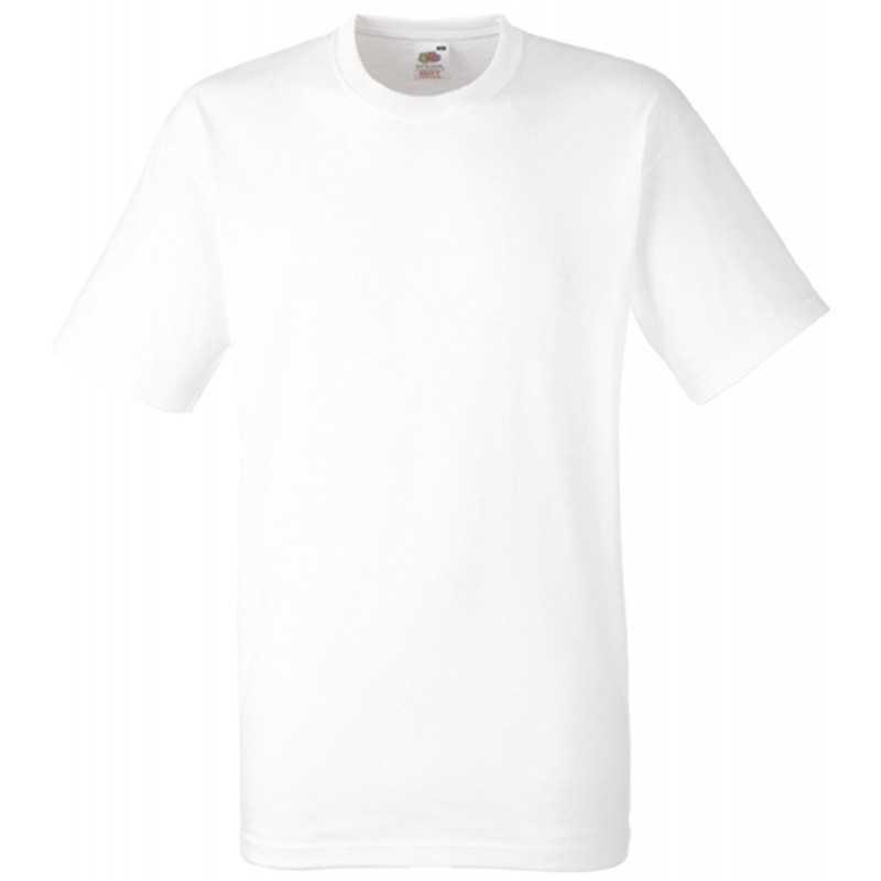 Tee shirt publicitaire Heavy Blanc