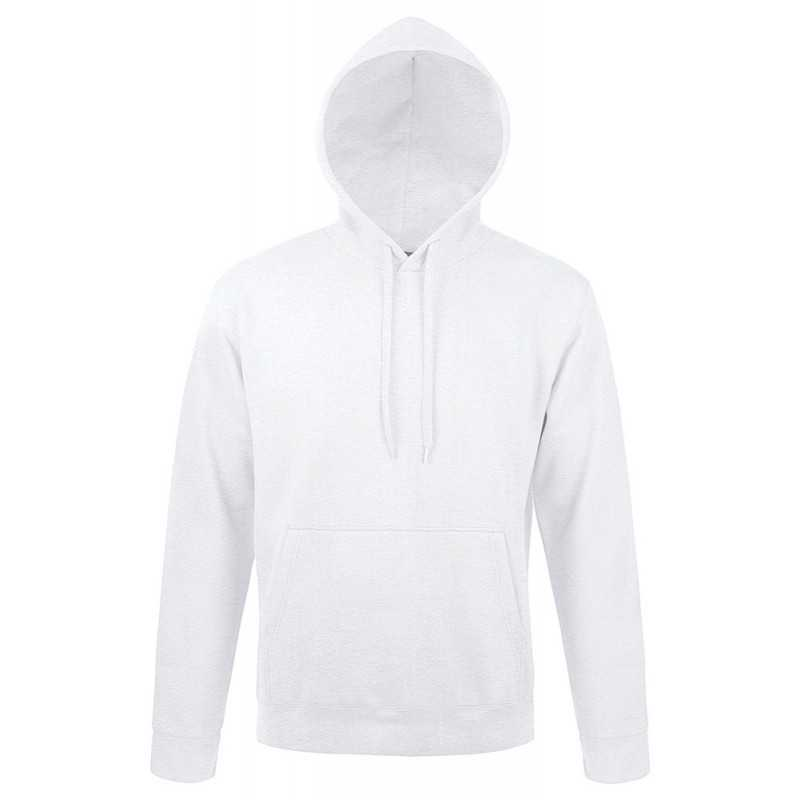 Sweat shirt publicitaire à capuche Snake blanc