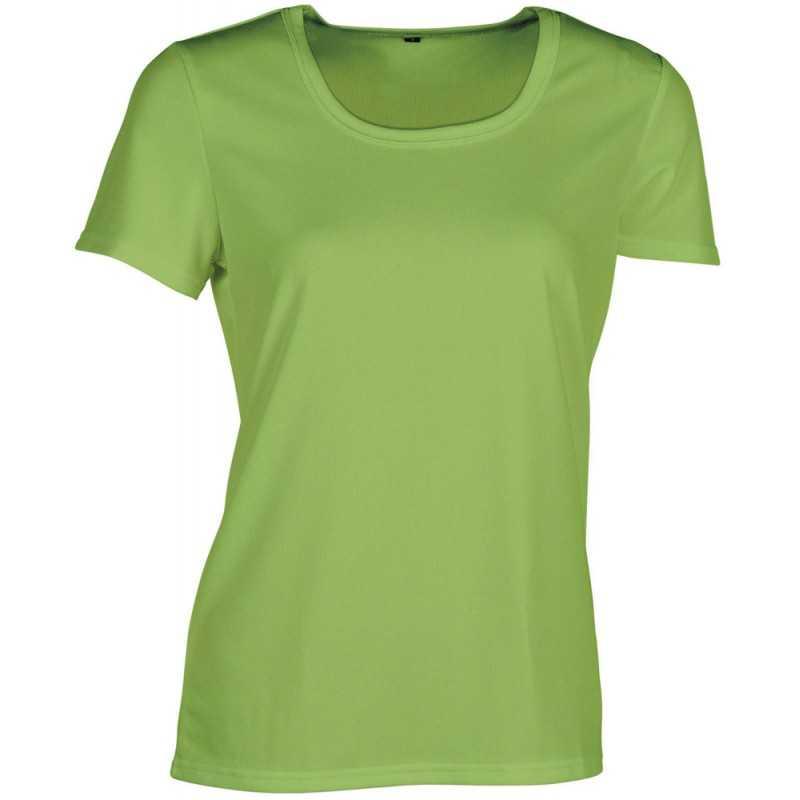 ac6f992d1a72b Tee-shirt publicitaire pour femme Sport fluorescent
