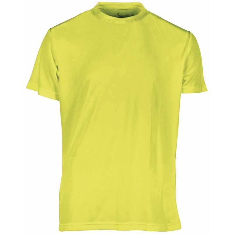 Tee shirt publicitaire homme Sport Fluo