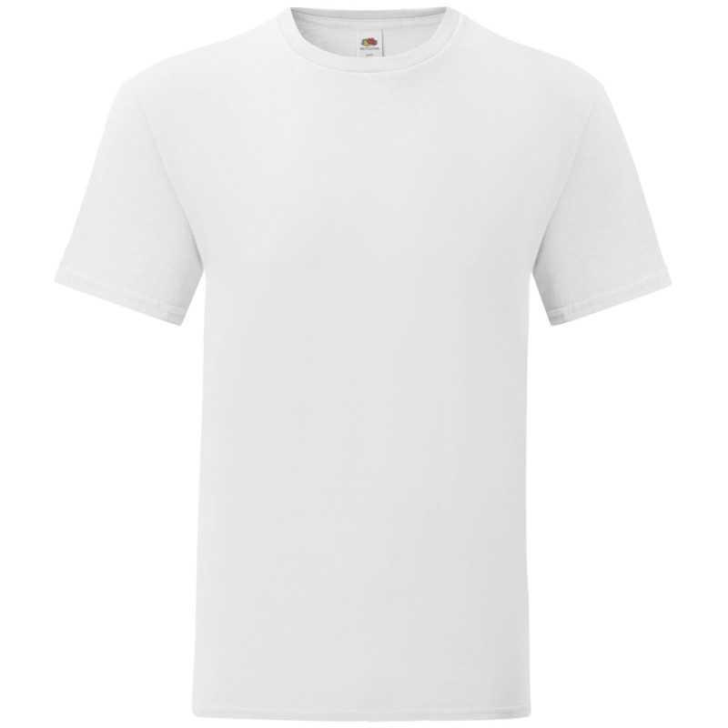 T-shirt publicitaire homme Iconic Blanc