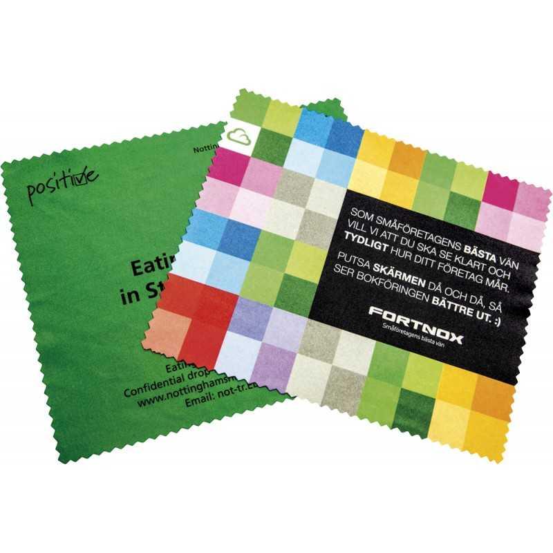 Lingette publicitaire microfibre Linette Rect