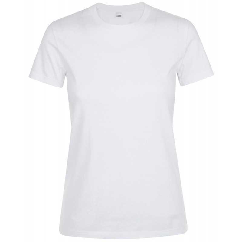 Tee shirt publicitaire Regent Femme blanc