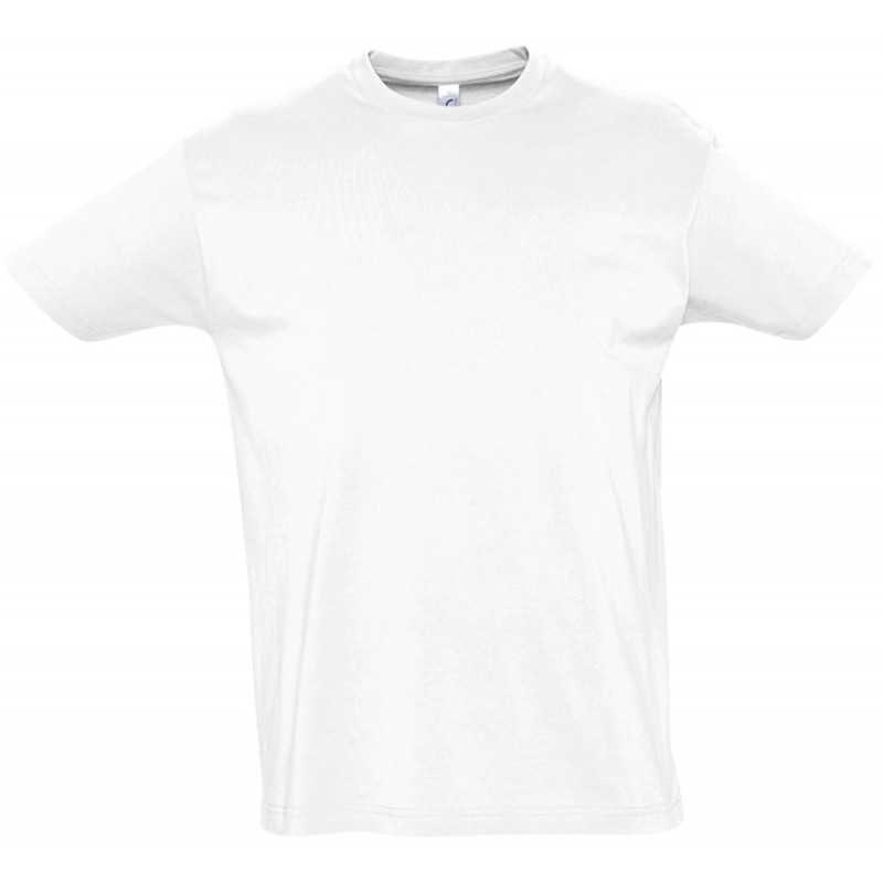 Tee shirt publicitaire Imperial H blanc