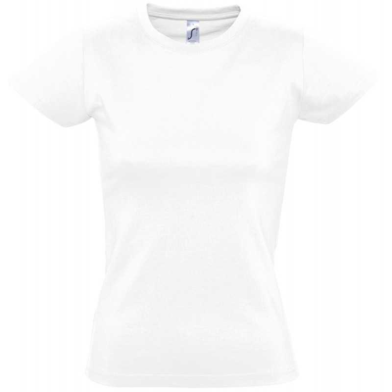 Tee shirt publicitaire Imperial F blanc
