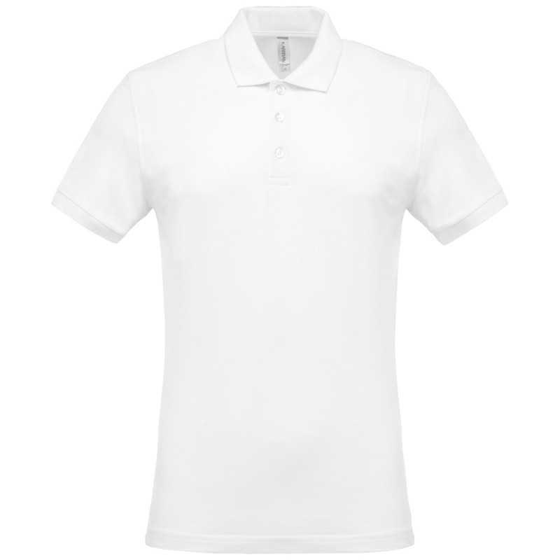 Polo publicitaire pour homme Coolwear Blanc