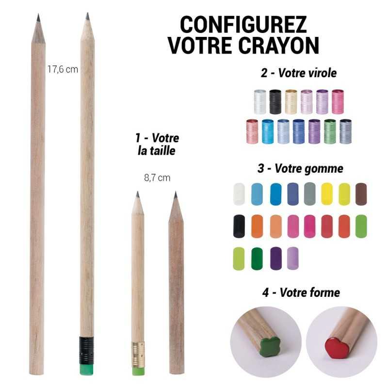 Crayon publicitaire de marque French Touch