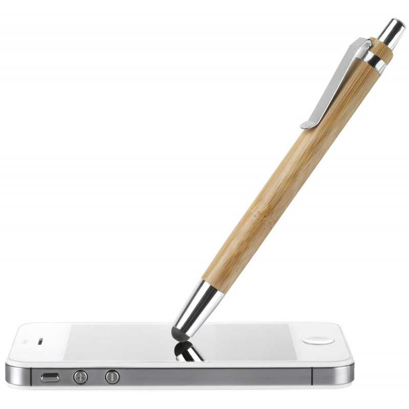 Stylet stylo publicitaire Bambou Touch