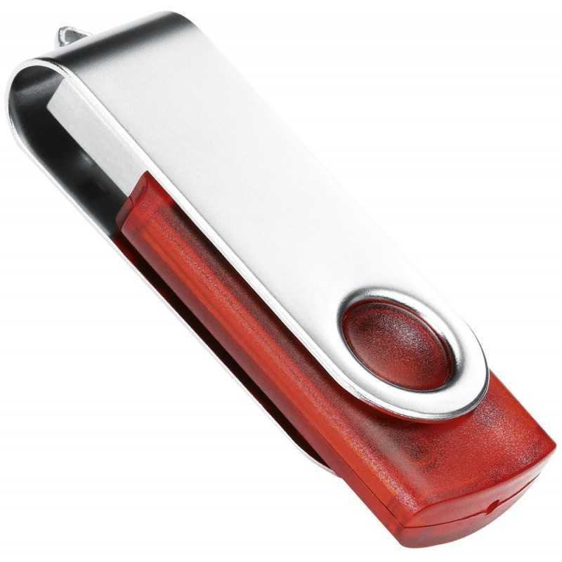 Clé USB personnalisée Transtech rouge 16 Go
