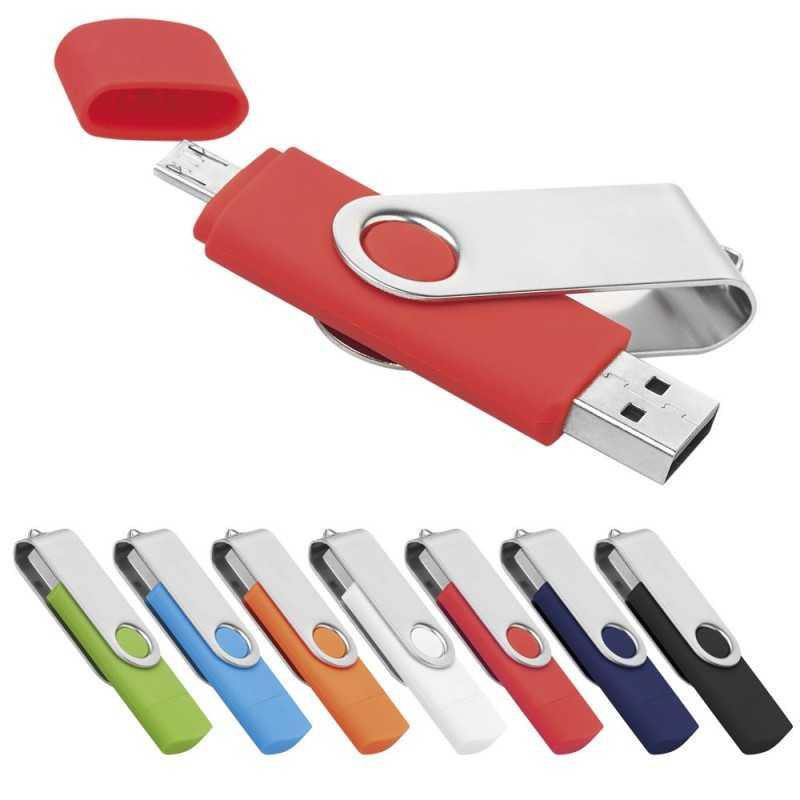 Clé USB personnalisée MicroUSB 4 Go
