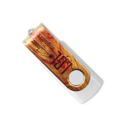 Clé USB personnalisée Twister Allover 1 Go