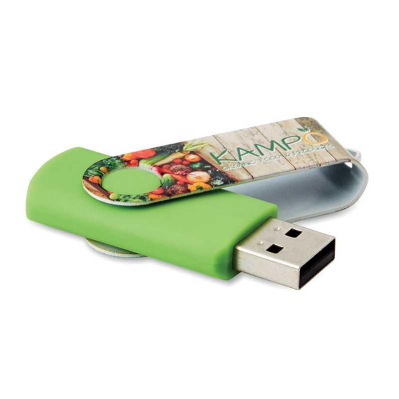 Clé USB personnalisée Twister Allover 2 Go