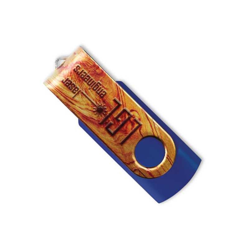 Clé USB personnalisée Twister Allover 4 Go