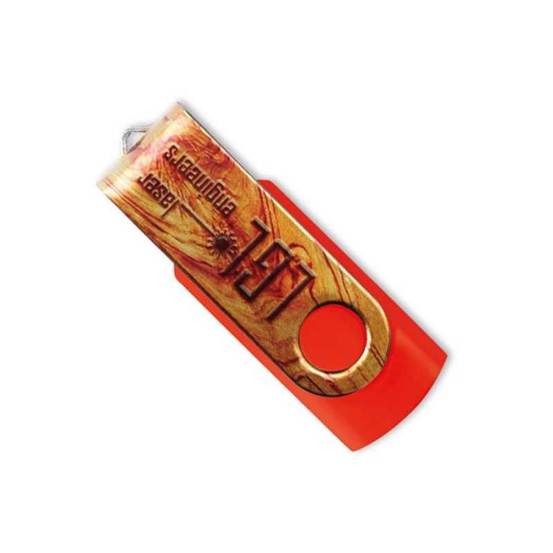 Clé USB personnalisée Twister Allover 32 Go
