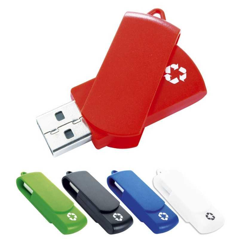 Clé USB personnalisée Recycloflash 8 Go