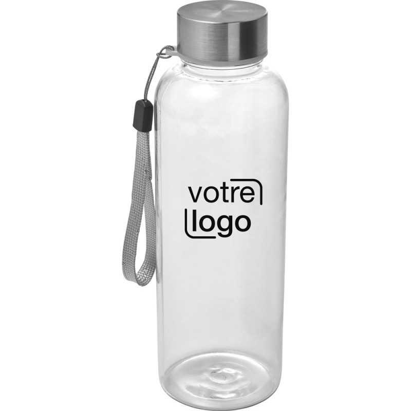 Bouteille publicitaire en plastique