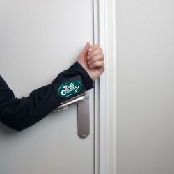 Poignée de porte anti-germes Stopit