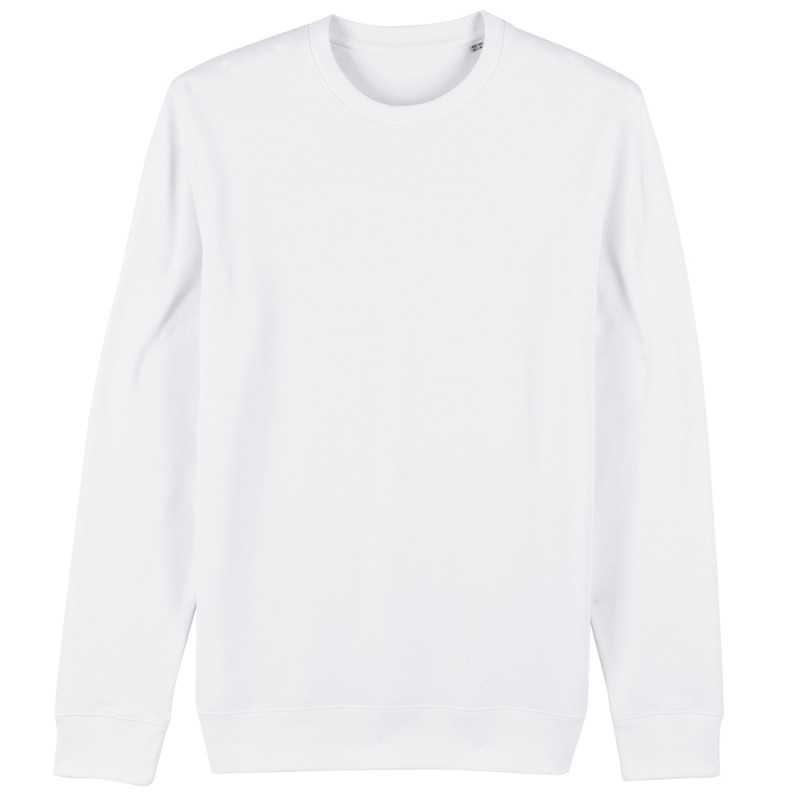 Sweat shirt publicitaire Changer Mixte Blanc