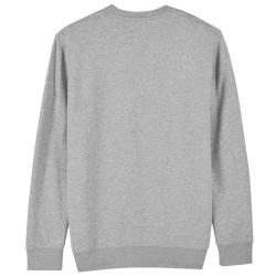 Sweat shirt publicitaire Changer Mixte Gris chiné