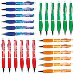 Lot de stylos publicitaires Malta assortis (250 pièces)