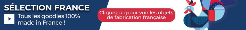 Objets publicitaires de fabrication française