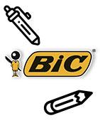 Illustration des stylos publicitaires de la marque Bic
