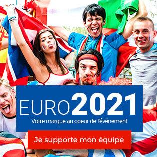 Sélection d'objets médias pour l'euro 2021