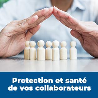 Objets à destination de la protection et de la santé de vos employés