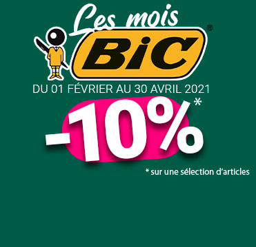 Sélection de stylo biodégradable et de post-it publicitaires