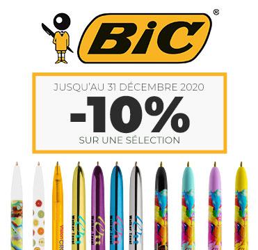 Sélection de stylos publicitaires Bic en promotion