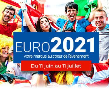 Objets médias euro de foot 2021