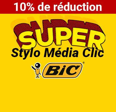 Stylo Média Clic 100% personnalisé