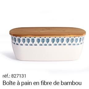 Boîte à pain en fibre de bambou