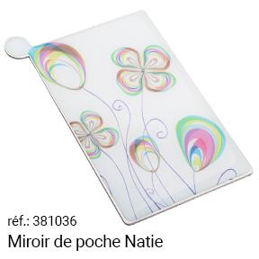 Cadeau Miroir de poche Natie