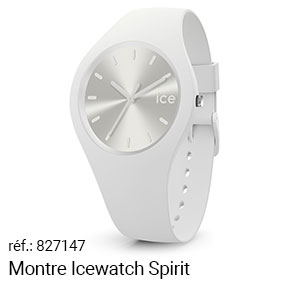 Montre Icewatch Blanche