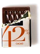 42% de chocolat