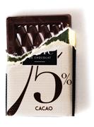 75% de chocolat